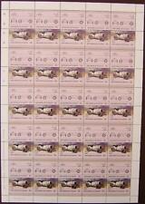 1914 MERCEDES BENZ GP Race Car 50-Stamp Sheet (1986 Grenadines of St Vincent)