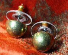 Boucles d`Oreilles Demi Boule Cuivre Retro  Classique Soirée Mariage Cadeau NN 3