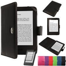 Amazon Kindle Paperwhite Reader Slim Leather Protective Folio Flip Case Cover
