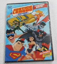 Justice League Action Superpowers Unite Season 1 Part 1 Dvd New Sealed One Comic