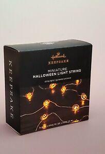 2021 Miniature Halloween Light String Pumpkin HALLOWEEN ORNAMENT