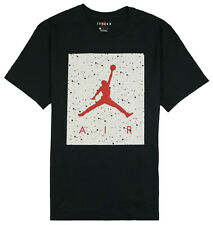 JORDAN Poolside T-Shirt sz 2XL XX-Large Black Cement Smoke Gray Red Retro 4 IV