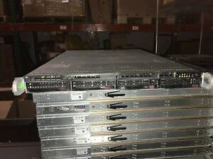 Supermicro CSE-815-5 X9SRW-F REV 1.01A 1x E5-1620 @ 3.6GHz 16GB RAM 1x SAS NO HD
