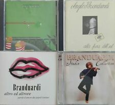 ANGELO BRANDUARDI lotto stock 4 cd originali