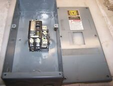 Square D 100 Amp Circuit Breaker Enclosure Qo2100Bn With 30 Amp Qo230 120/240Vac