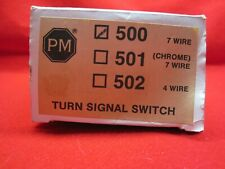 Turn Signal Switch New Truck Car Pm 500 7-Wire Harness 12V Peterson Nos Rat Rod