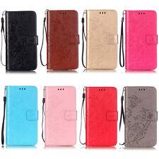 Flower Stand ID Wallet Leather Flip Case Cover For LG G3 G4 G5 K4 K7 K10 K8 2018