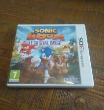 Jeu Nintendo 3DS SONIC BOOM LE CRISTAL BRISE ( SEGA ) - VF