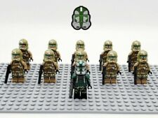 11 Minifigures Lot Star Wars Commander Gree Kashyyyk Clones Set Building Toys
