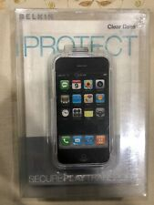 Belkin Clear Case For Iphone Protect F8Z189 Clear