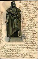 Nürnberg Bayern Mittelfranken AK 1908 Albrecht Dürer Denkmal Standbild Statue