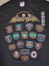 """Famous Biker Bars T-Shirt 42"""" Chest XL NOS New"""