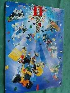 697 Lego Bauanleitung  teilw. Sticker keine Steine