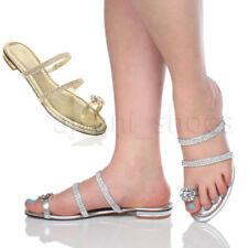 Sandali e scarpe blocchetto con tacco basso (1,3-3,8 cm) con cinturino per il mare da donna
