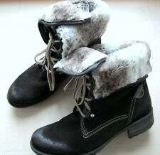 NEU % JOSEF SEIBEL Damen Winter Stiefel 41 Stiefeletten Boots grau UVP 99,95€