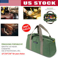 Multi-function Canvas Waterproof Storage Hand Tool Bag Portable Toolkit Pouch US