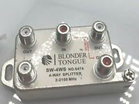 Blonder Tongue SW-4WS   4 Way Splitter   2-2150 MHz