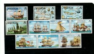 A very nice unused Anguilla Maritime group of issues