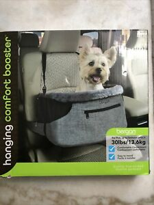 Bergan Comfort Hanging Booster Seat - Black Small (Pets up to 30 lbs)