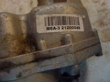 Mobility scooter transaxle  M6A-321200049