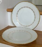 "Richard Ginori FIRENZE (Vecchio Shape) 6 3/4"" Dessert / Pie Plates Set of 2"