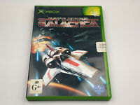 Mint Disc Xbox Original Battlestar Galactica