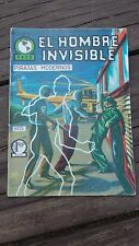 1965 MEXICAN COMIC EL HOMBRE INVISIBLE # 25 (INVISIBLE MAN ADVENTURE/MONSTER)