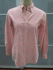 Maria Luisa B. Nautical Stripe Button Down Shirt Blouse Size 44