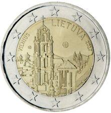 """2 euro commémorative  2017 Lituanie """"NEUVE UNC"""" Vilnius"""