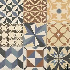 Tile Samples Gaudo Multi Colours Patchwork Victorian Encaustic Porcelain Tiles