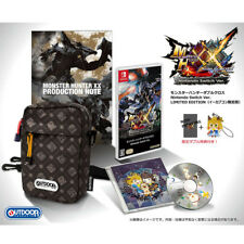 NEW Monster Hunter Double Cross Nintendo Switch Ver. e-Capcom LIMITED EDITION