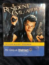 Resident Evil Afterlife (2010 Blu-Ray Steelbook) Milla Jovovich NEW Sealed
