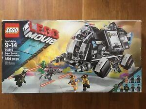 LEGO The Lego Movie 70815 Super Secret Police Dropship NISB FREE SHIPPING
