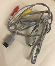 Genuina Oficial Nintendo Wii cable AV Buen Estado