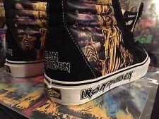 "Vans Iron Maiden ""Killers"" US 9.5 New W/Tag, No Box. Rare!⚡️🤘🏻"