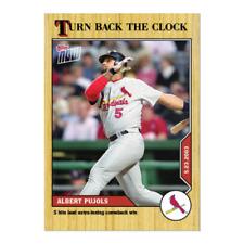 Albert Pujols - 2020 TOPPS NOW Turn Back The Clock  #54 Cardinals SP