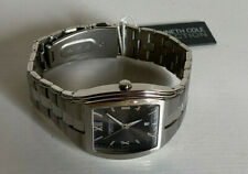 NEW! KENNETH COLE REACTION MEN'S SILVER-TONE STAINLESS STEEL WATCH $95 SALE