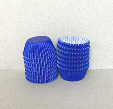 MINI Royal Blue Cupcake Liners, Mini Blue Cupcake Wrappers, Blue Candy Cups