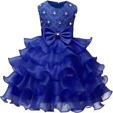 Baby Flower Girl Birthday Wedding Bridesmaid Pageant Graduation Formal Dress Lot