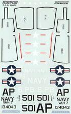 Xtradecal 1/72 North-American AJ-2 Savage # 72029