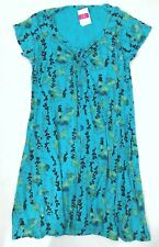 dac8417fa7 Fresh Produce 3x Luna Blue Emma Floral Vines Stretch Knit Dress 3x