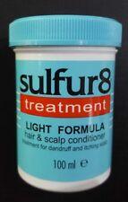 Sulfur8 Medicated LIGHT FORMULA Anti Dandruff Hair & Scalp Conditioner - 100ml