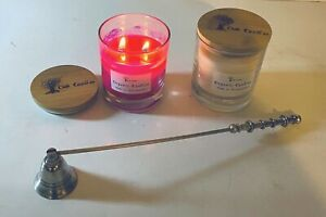 Aromatherapy Soy Candle in Jar Natural 30 cl with Essential Oils
