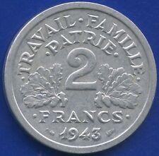 1943 France 2 Franc Coin