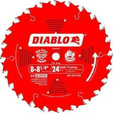 "FREUD DIABLO D0824X 8"" - 8-1/4"" 203mm - 210mm 24T CIRCULAR SAW BLADE TOP QUALITY"