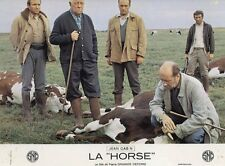 JEAN GABIN  LA HORSE  1970 PHOTO D'EXPLOITATION VINTAGE #7