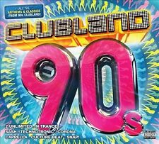 Clubland 90's by Various Artists (CD, 2013, 4 Discs, Universal Music UK) dance