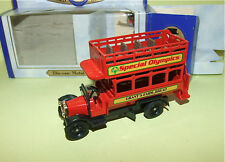 BUS ANGLAIS SPECIAL OLYMPICS OXFORD DIECAST comme LLEDO
