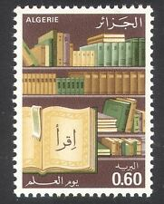 Argelia 1980 Libros/Educación/Conocimiento/Biblioteca/impresión 1v (n39594)