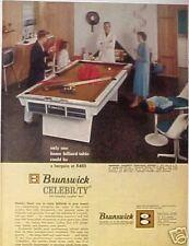 Sears Pool Table & Jimmy Caras Pocket Billiard Champ AD